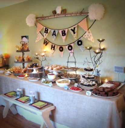 Baby shower decorations ideas for girl
